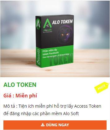 alo token tien ich ho tro lay access token dang nhap phan mem alosoft - Top các phần mềm marketing đa kênh tốt nhất 2019