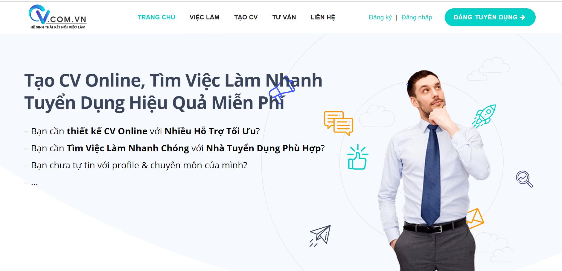 Hệ Sinh Thái Kết Nối Việc Làm Cv.com.vn