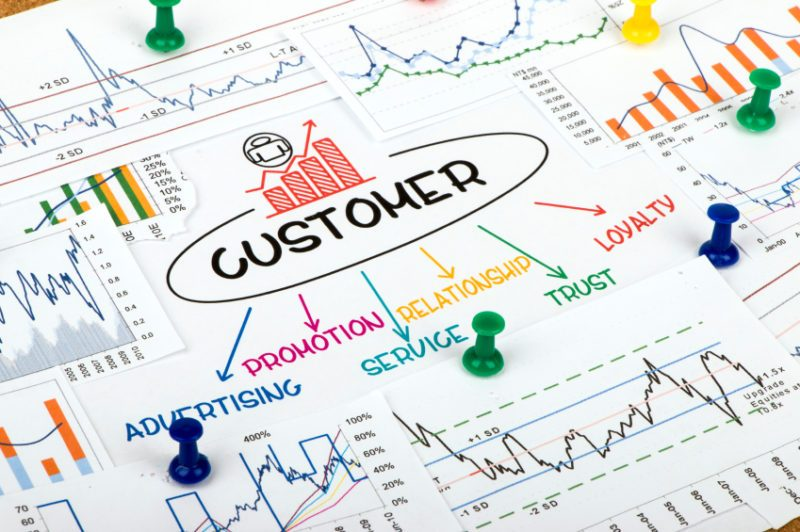 Customer Concept In Financial Chart