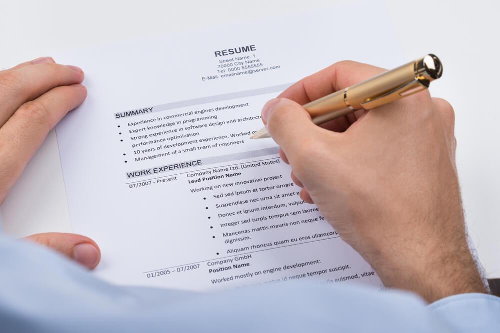 cách viết CV/hồ sơ xin việc tiếng Anh