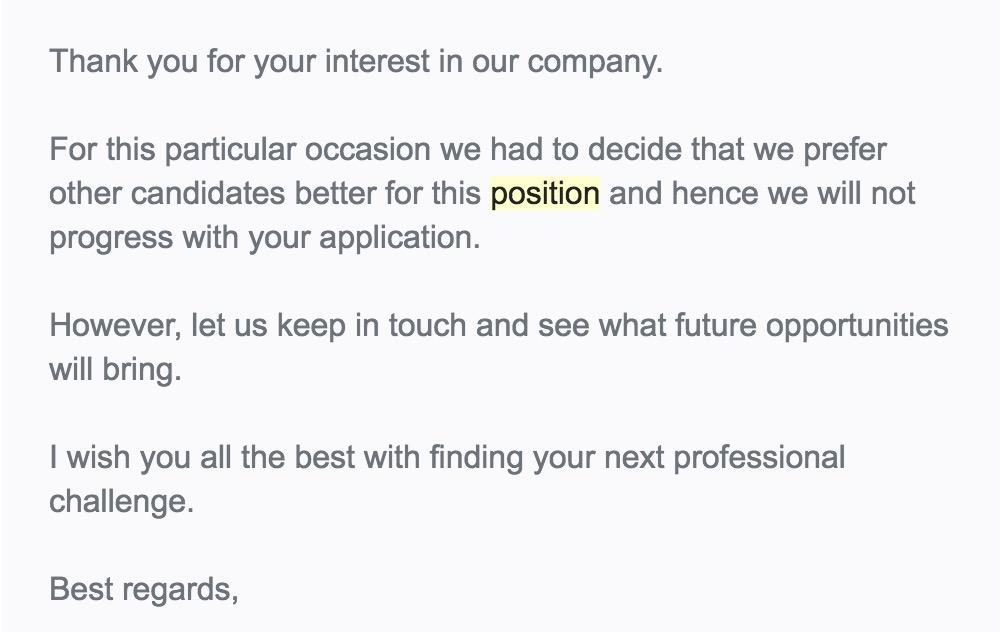 Kỹ năng viết thư từ chối phỏng vấn, nhận việc khéo léo | Jobnow