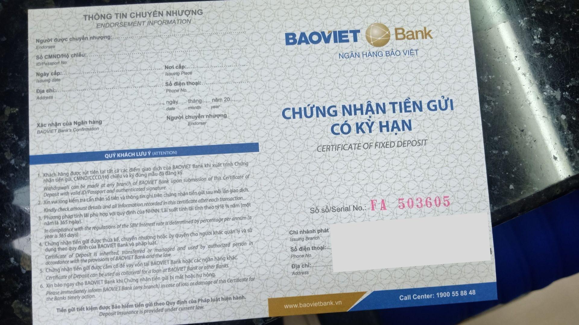 Dịch vụ chứng minh tài chính Bảo Tín tại thành phố Hồ Chí Minh