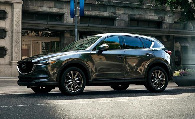 Mazda CX-5 đầy thu hút với thiết kế bắt mắt