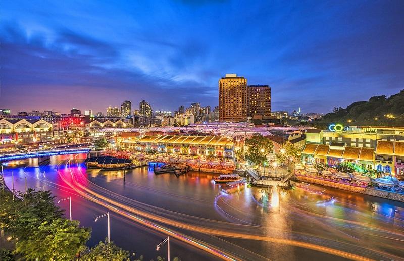 Khám phá Clarke Quay – một thiên đường giải trí của quốc đảo Sư tử Singapore