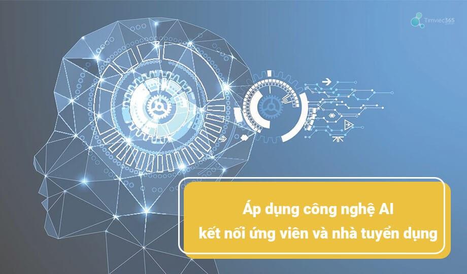 Timviec365.com.vn dùng công nghệ AI để kết nối nhà tuyển dụng và ứng viên