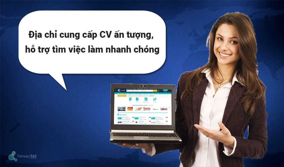 Timviec365.com.vn địa chỉ uy tín giúp tìm việc làm và tạo CV ấn tượng